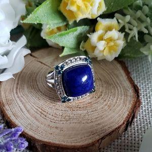 Lapis Lazuli Sterling Silver Ring
